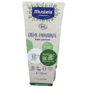 Mustela Bébé Crème Hydratante Bio 150 ml