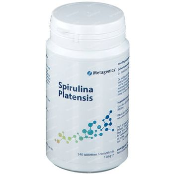 Spirulina Platensis 500mg 240 tabletten