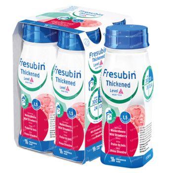 Fresubin Thickened Level 2 Aardbei 4x200 ml