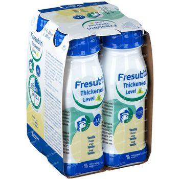Fresubin Thickened Level 3 Vanille 4x200 ml