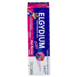 Elgydium Kids Tandpasta Gel Grenadine 50 ml