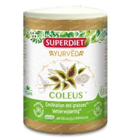 Superdiet Coleus - Elimination des Graisses 60  capsules