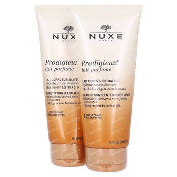 Nuxe Prodigieux Parfümierte Hautverfeinernde Körpermilch DUO 2x200 ml