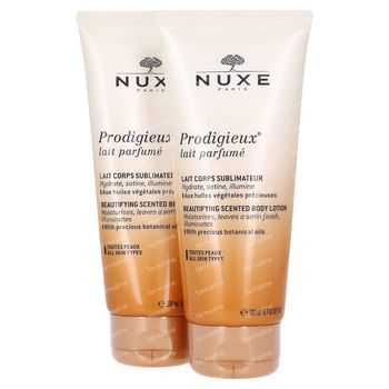 Nuxe Prodigieux Sublimerende Lichaamsmelk DUO 2x200 ml