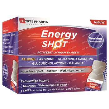 Forté Pharma Energy Shot 6x60 ml