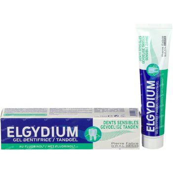 Elgydium Gel Dentifrice Dents Sensibles Nouvelle Formule 75 ml