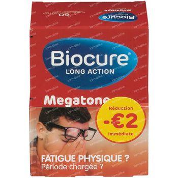 Biocure Megatone Energy Boost Verlaagde Prijs 60 tabletten