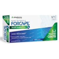 Forcapil tegen Haaruitval 2+1 Maand GRATIS 90  capsules
