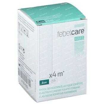 Febelcare Haft Bandage de Fixation Elastique 8cmx4m 1 pièce