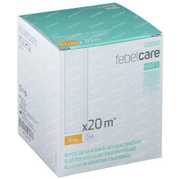 Febelcare Haft Elastisch Fixatieverband 10cmx20m 1 stuk