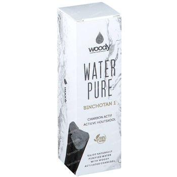Woody Water Pure Binchotan Charbon Actif 1 pièce