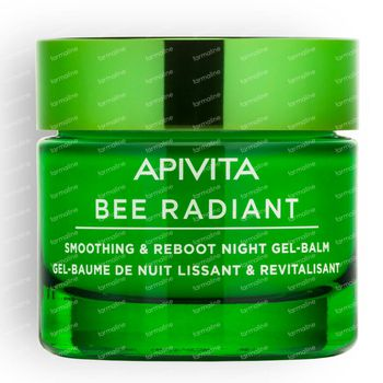 Apivita Bee Radiant Smoothing & Reboot Night Gel-Balsem 50 ml