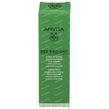 Apivita Bee Radiant Crème Yeux Signes de l'Âge & Anti-Fatigue 15 ml
