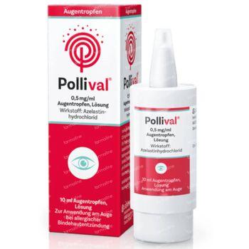 Pollival Anti-Allergische Oogdruppels 10 ml