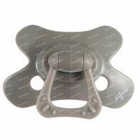 Difrax Fopspeen Clay Natural 20 Maanden+ 1 stuk