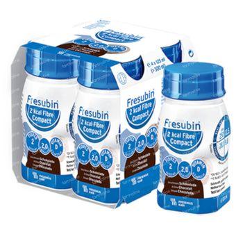 Fresubin 2 Kcal Compact Drink Chocolade 4x125 ml