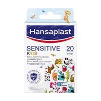 Hansaplast Sensitive Kids Animals 20 pièces
