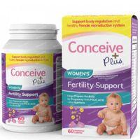 Sasmar Conceive Plus Women Fertility Support 60  capsules