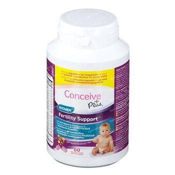Sasmar Conceive Plus Women Soutien à la Fertilité 60 capsules
