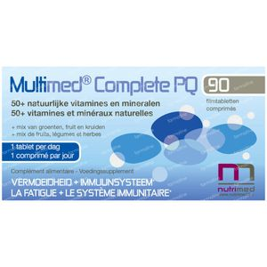 MultiMed Complete PQ Nouvelle Modèle 90 comprimés