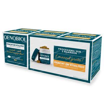 Oenobiol Kracht & Vitaliteit van Haar en Nagels 3x60 capsules