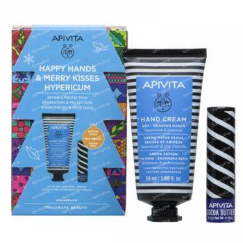 Apivita Happy Hands & Merry Kisses Hypericum Gift Set 1 set