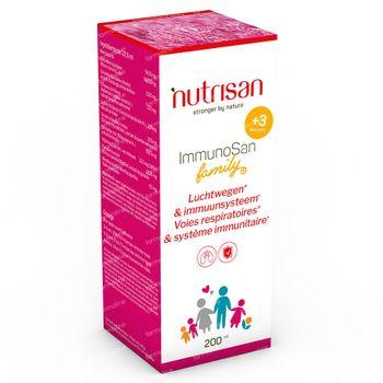 Nutrisan ImmunoSan Family 200 ml siroop