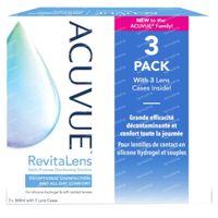 Acuvue Revitalens Solution pour Lentilles Souples 3x360 ml