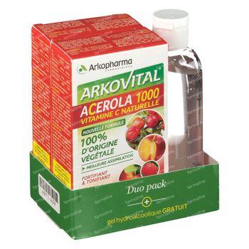 Arkovital Acerola DUO + Hand Gel FREE Offer 2x30 tabletten