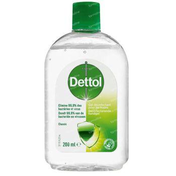 Dettol Desinfecterende Handgel Classic 200 ml