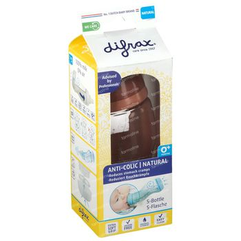 Difrax S-Fles Brick Natural 170 ml