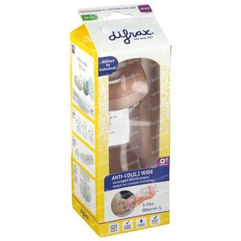 Difrax S-Fles Blossom Wide 310 ml