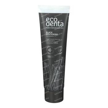 Ecodenta Black Dentifrice Blanchissant 100 ml