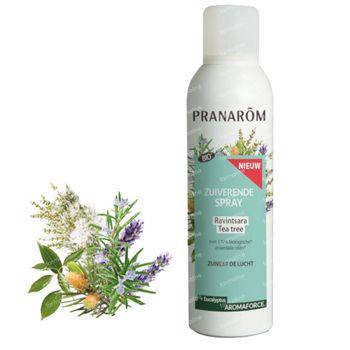 Pranarôm Aromaforce Zuiverende Spray Ravintsara-Eucalyptus Bio 150 ml