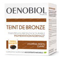 Oenobiol Teinte de Bronze - Autobronzant, Bronzage Sans Soleil 30  capsules