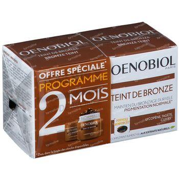 Oenobiol Bronze Teint - Zelfbruiner, Bruinen Zonder Zon DUO 2x30 capsules