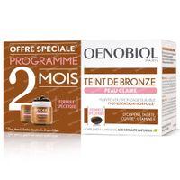 Oenobiol Teinte De Bronze Peau Clair - Autobronzant, Bronzage Sans Soleil DUO 2x30  capsules