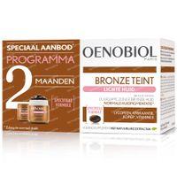 Oenobiol Bronze Teint Lichte Huid - Zelfbruiner, Bruinen Zonder Zon DUO 2x30  capsules