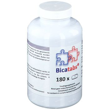 Bicatabs 180 comprimés
