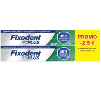Fixodent Pro Plus Dual Protection DUO 2x57 g