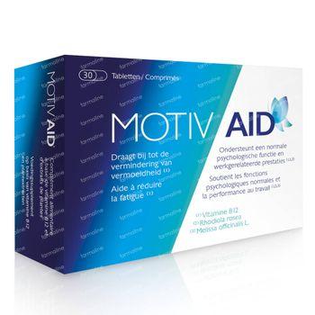Motiv Aid - Vermoeidheid & Werkgerelateerde Prestaties 30 tabletten