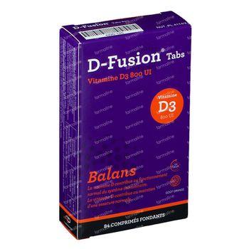 D-Fusion Balance 800 IE 84 smelttabletten