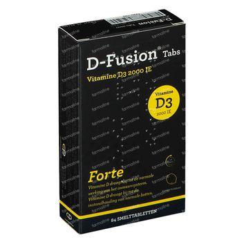 D-Fusion Forte 2000 IE 84 smelttabletten