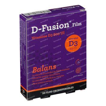 D-Fusion Film Balans 800 IE 28 filmtabletten