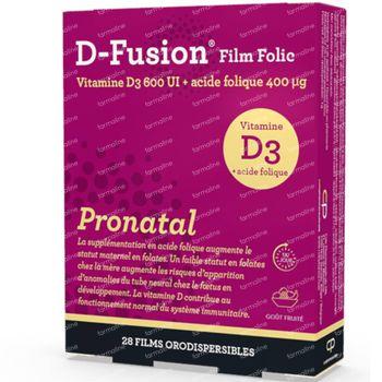 D-Fusion Film Folic Pronatal 28 filmtabletten