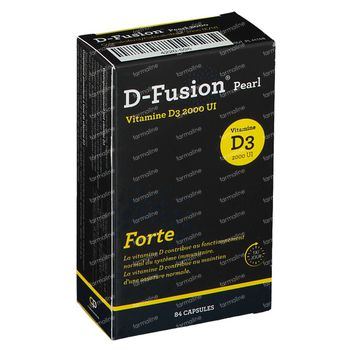 D-Fusion Pearl Forte 2000 IE 84 capsules