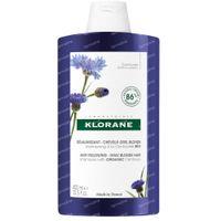 Klorane Anti-Yellowing Shampoo Duizendguldenkruid Bio Nieuwe Formule 400 ml