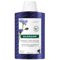 Klorane Shampooing Déjaunissant à la Centaurée Bio Nouvelle Formule 200 ml