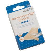 Hekaplast Waterproof 10x6cm 10 pièces