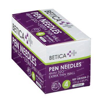 Betica Pen Aiguilles 4mm 32g 100 pièces
